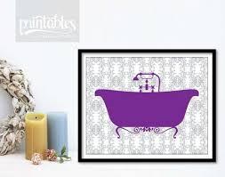 purple wall art for bathroom luxury items similar to purple bathroom decor vintage bathtub art on purple bathtub wall art with purple wall art for bathroom luxury items similar to purple bathroom