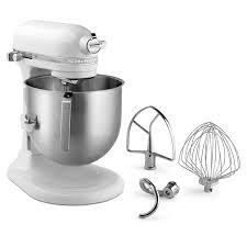 kitchenaid accessories. kitchenaid ksm8990wh 10-speed stand mixer w/ 8-qt stainless bowl \u0026 accessories, white kitchenaid accessories e