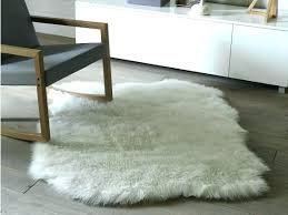 faux fur rugs ivory faux fur rug minimalist sheepskin in 9 best rugs the independent