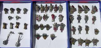 1038881 Sehr Alter Christbaumschmuck Aus Metall Blech 46 Teile Um 1900 Siehe Bitte Bilder U Beschreibung