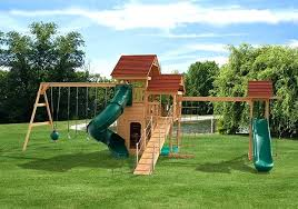 backyard wooden playsets wood plans big