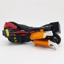 hid relay harness xenon lights hid anti flicker relay wiring harness for h1 h3 h7 h10 h11 9005 9006