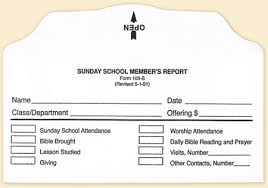 report card envelopes sunday school member report envelope bill size form 103 s