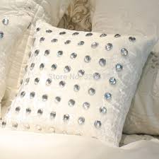 small pillow covers.  Pillow Free Shipping Luxury Fashion Pillow Cover Cushion Set Decoration  Sets Small Crystal Full Rhinestone Coverin Cushion Cover From Home  Intended Small Pillow Covers AliExpress