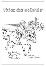 Kleurplaten Vivian Den Hollander