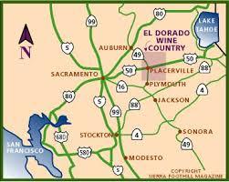 Wineries in the Sierra Nevada Foothills