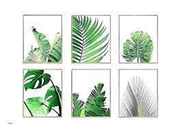 metal leaves wall decor banana leaf art giant palm inspirational poster artificial plant lea palm leaf