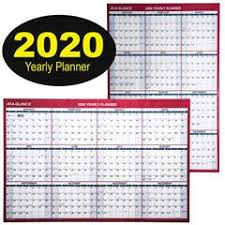 At A Glance Yearly Calendars At A Glance 2020 Yearly Planner Pm26 28 Dry Erase Wall