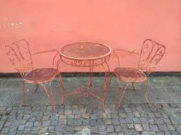 Sedie In Ferro Battuto Ebay : Tavolo vintage da giardino con sedie in a pistoia kijiji