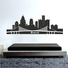 skyline wall decals skyline wall mural decal superhero city skyline wall decal