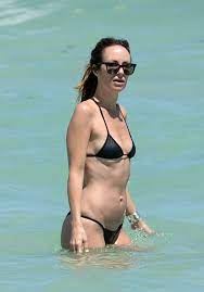 Catt Sadler In Black Bikini Beach Foto ...