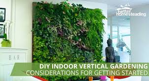 image showing a diy indoor vertical gardening system