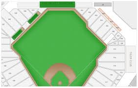Comerica Park Seating Chart By Rows Detroit Tigers Comerica Park Seating Chart Interactive Map