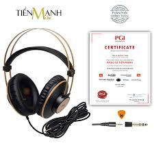 Chính Hãng Mỹ] Tai Nghe Kiểm Âm AKG K92 Over-Ear Studio Monitor Headphones  Professional - Kèm Móng Gẩy DreamMaker
