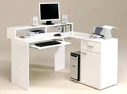 corner desk storage incredible white desk with storage corner l desk with hutch and reversible storage