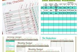 Budget Sheet Free Printable 11 Free Budget Printables To Help Get Your Money Under Control