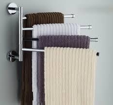 Towel Hanger Amazonsmile Bekith Wall Mounted Stainless Steel Swing Bathroom