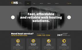 Hosting Responsive WordPress Theme #49361