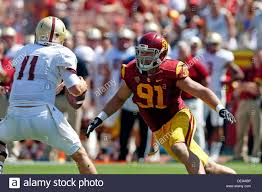 Boston College Football Depth Chart 2013 September 14 2013 Usc Trojans Linebacker Morgan Breslin