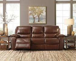 ashley penache reclining sofa and love genuine leather