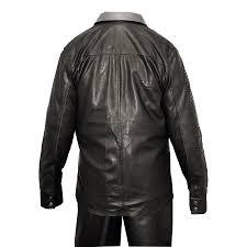 g gator genuine python snake skin genuine leather shirt 703
