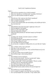 essay questions for the scarlet letter essay topics scarlet letter