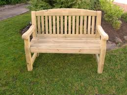 athol chunky 4 foot wooden garden bench brand new summer reduced