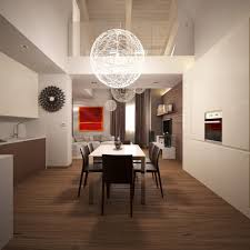 living room pendant lighting. Living Room. Wooden Dining Set Brown Floor Connected By Round White Pendant Lamps. Room Lighting