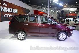 Toyota Innova Crysta formal launch tomorrow in India