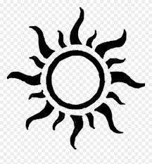Sol Sun Sunshine Spiral Sun Tattoo Designs Clipart 4245061