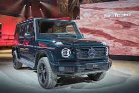 Every used car for sale comes with a free carfax report. Mercedes G Class 2018 Pictures Specs And Info Car Magazine