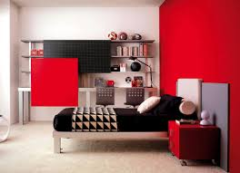 teens room gorgeous red and black themed cool teen room designs on creamy fur regarding amazing bedroom awesome black