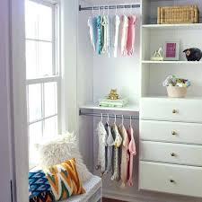 nursery closet makeover using organization system ideas baby ikea for a