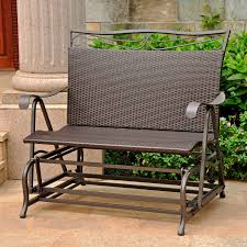 furniture patio glider loveseat outside gliders for reclining glider loveseat outdoor double glider rocker