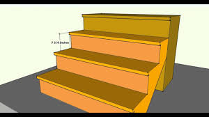 Exterior Stair Tread Code
