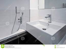 designer bathroom appliances stock photography  image