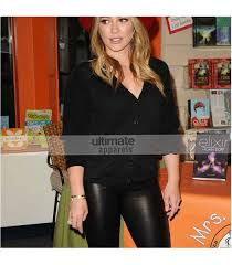 hilary duff designers leather pant for women 149 00