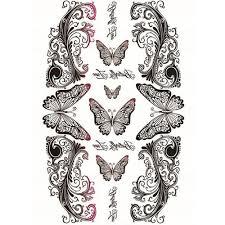 Yeeech временные татуировки стикеры для для женщин поддельные Reborn