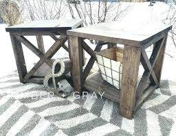rustic coffee and end tables rustic x coffee table rustic white end table farmhouse coffee table