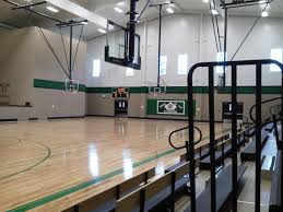 School Gym Lighting And Scoreboard G S Electrical