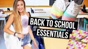 diy back to school essentials supplies for 2016 laurdiy