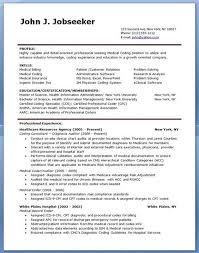 Medical Billing And Coding Resume Resume Objective Ideas Pinterest