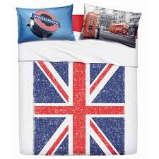 sheets for single bed union jack cm 160x280