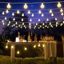 Decorative String Lights Amazon Bluefire 31ft 50 Led Ball Fairy Lights Plug In 8 Lighting Modes With Remote Control Timer For Wedding Lawns Christmas Indoor Outdoor Decoration