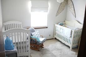 white aqua twin nursery a budget bedding nursery white cowhide rug home ideas