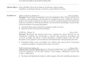 Immigration Paralegal Resume Sample Paralegal Resume Immigration