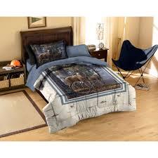 american heritage collection cold snap deer bedding comforter set com