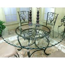 round glass kitchen table and chairs love the edges on the glass n round glass top dining table india best dining table india