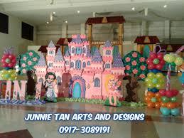 Princess Balloon Decoration Disney Princess Theme Styro Backdrop For Rent And Balloon Decor