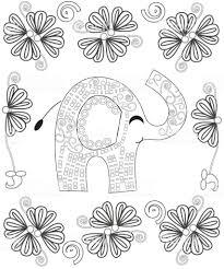 Kleurplaat Fotoboekpagina Voor Volwassenen Lijn Kunst Creatie Hand